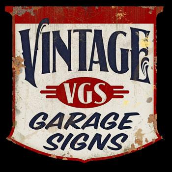 About us from vintage garage signs for Vintage garage signs uk
