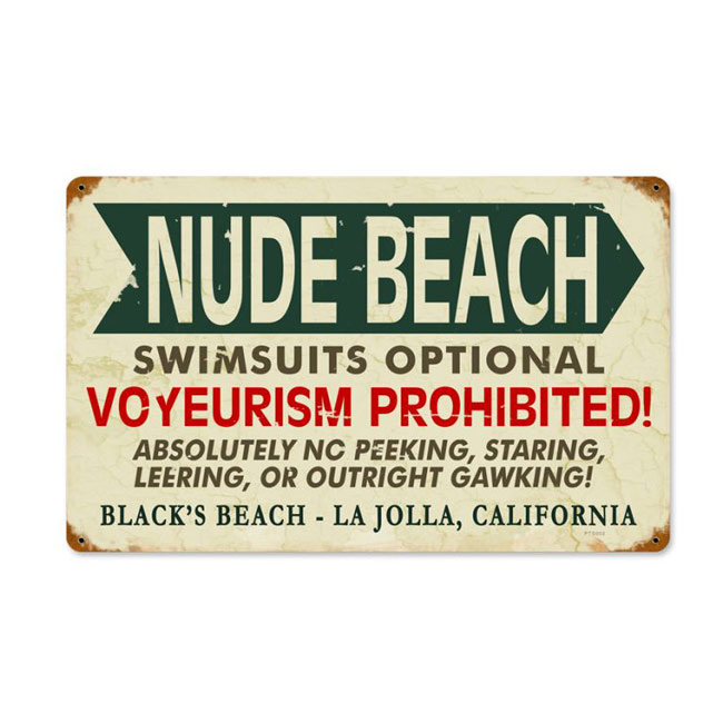 Click To Find Out More About Beach Sign