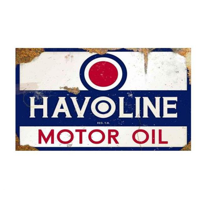 Havoline Motor Oil Vintage Sign