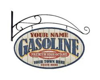 Click to view more Personalized Gas Station Custom Personalized Signs
