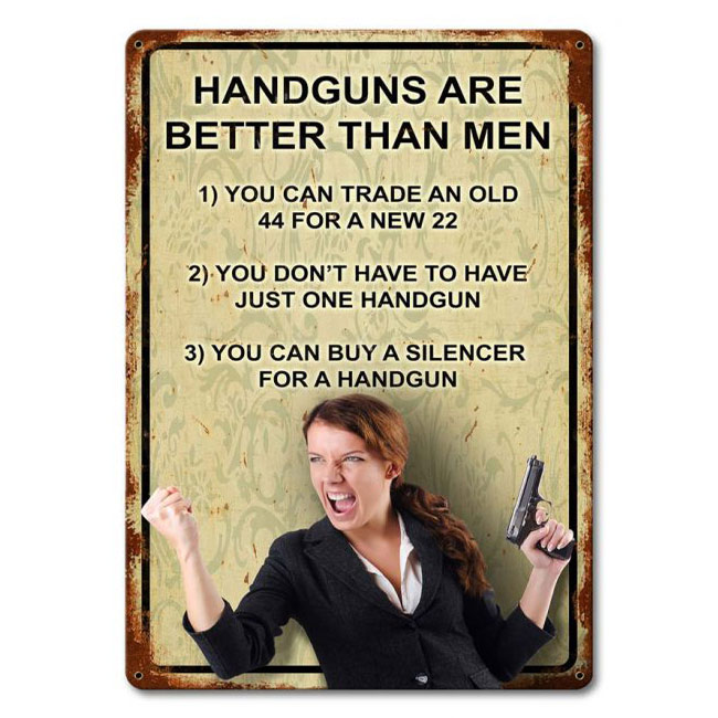 Click to view more Gun Signs Signs