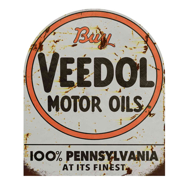 Buy Veedol Motor Oils Sign