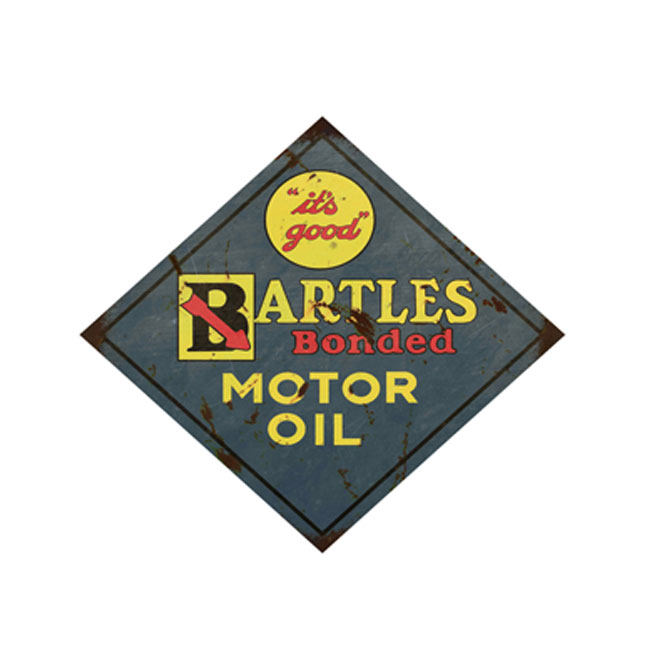 Bartles Motor Oil Sign