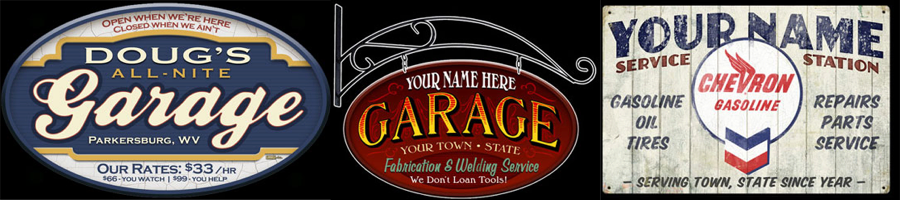 Dog Address Signs